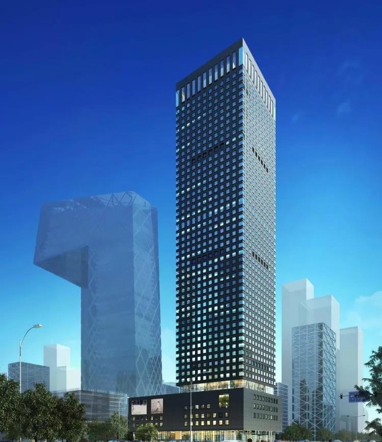 """我们在北京东二环,打造了全球""""独一无二""""的住宅幕墙"""