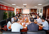 北京城建亚泰建设集团领导班子到泰洋幕墙调研