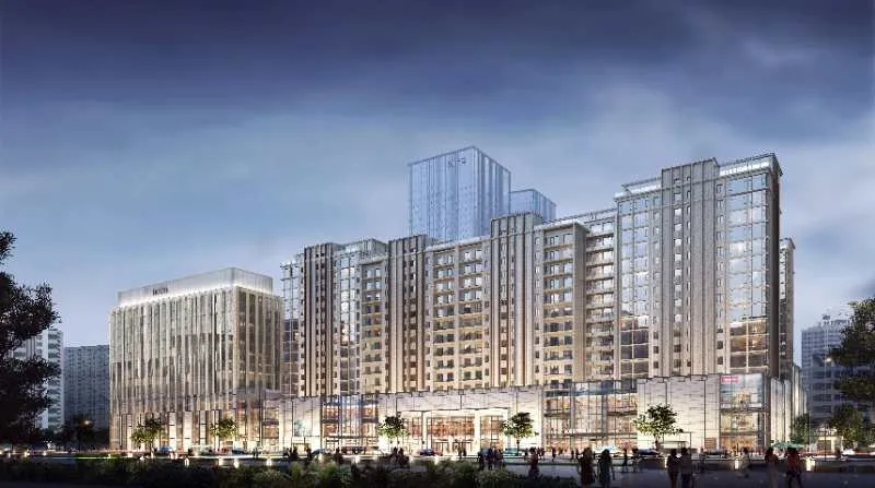 北京东直门交通枢纽项目1#、2#住宅系统窗(德国旭格)供货及安装工程