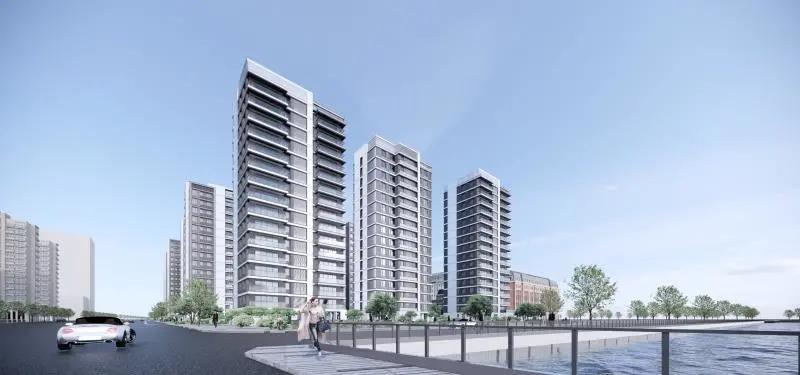 前滩04-02地块(住宅)项目外立面专业分包工程