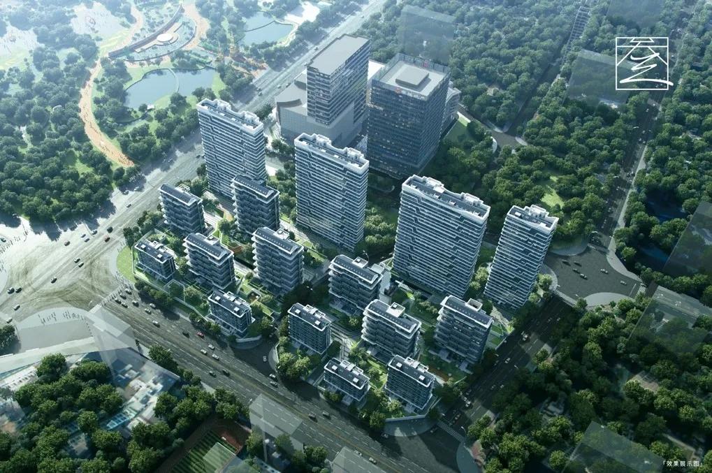 中海甲叁號院项目664地块大区外装工程