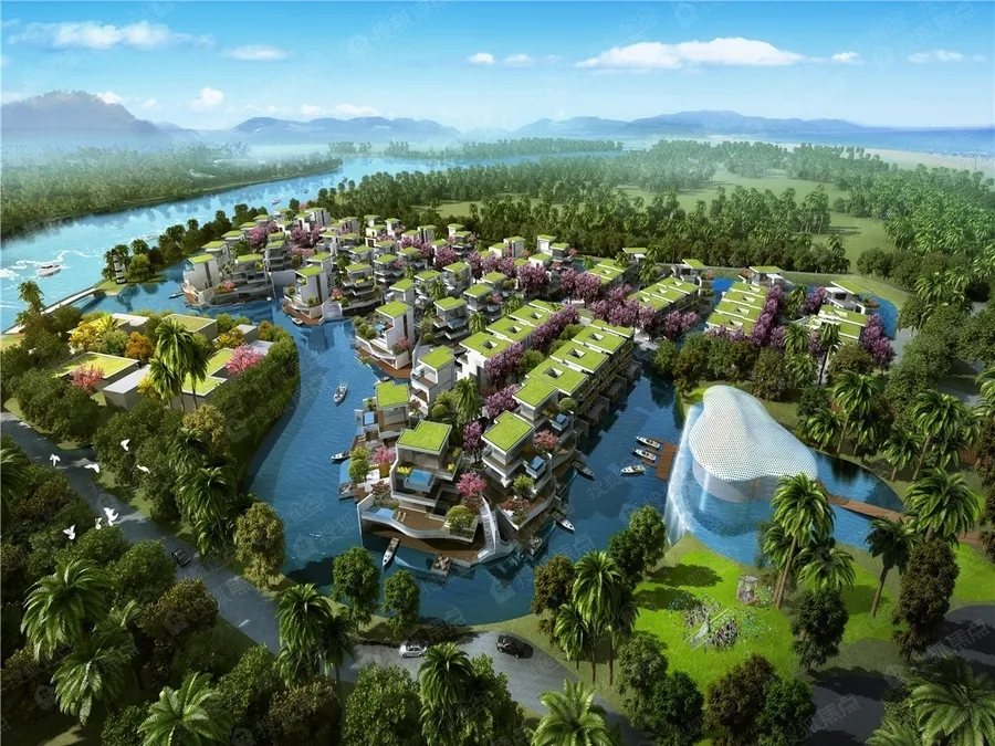 三亚国美海棠湾项目一期别墅系统门窗工程
