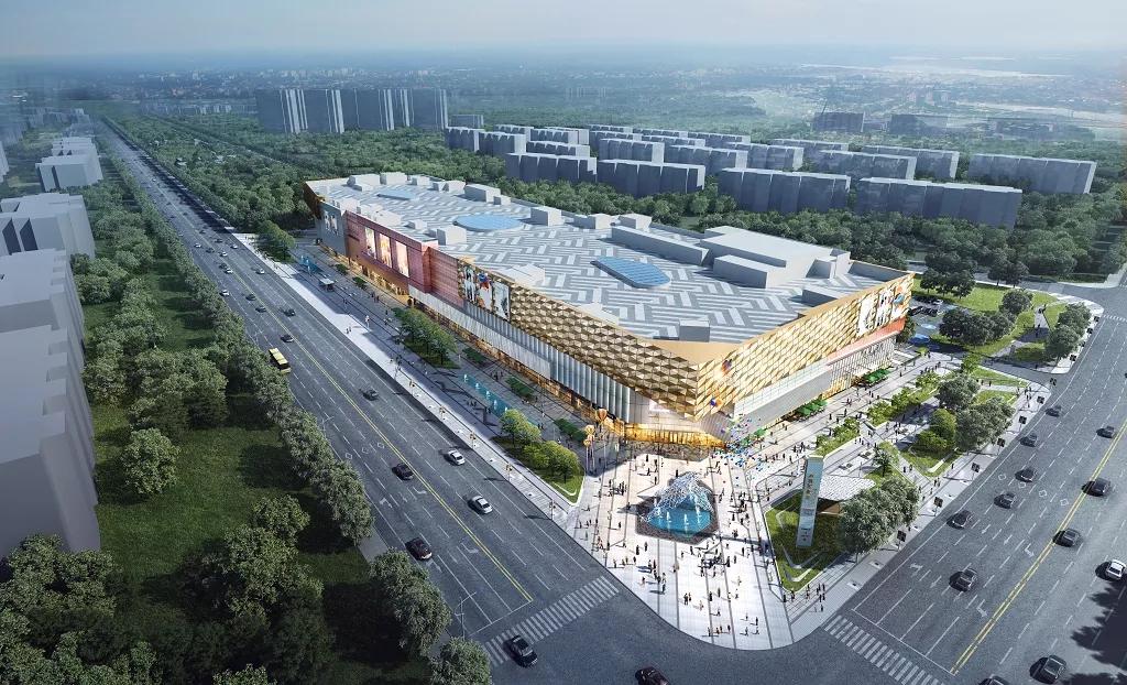 天津万科张家窝商业项目幕墙工程